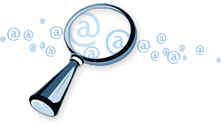 Search for email addresses